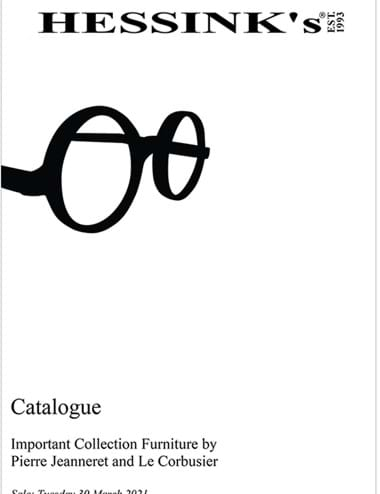 Le Corbusier and Pierre Jeanneret Furniture Collection Catalogue Cover