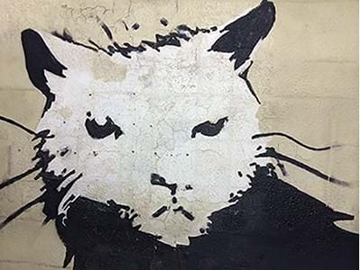 The world's biggest Banksy to be auctioned with Hessink's